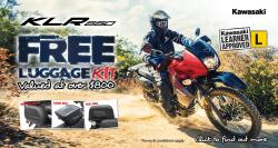 KAWASAKI KLR650 LUGGAGE DEAL