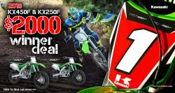 KAWASAKI MX DEALS